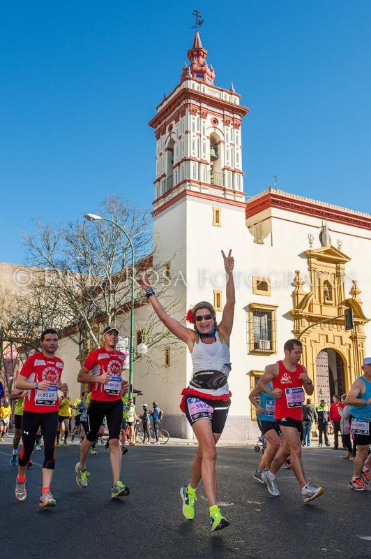 146 DAVID DE LA ROSA Zurich Maraton Sevilla 2015