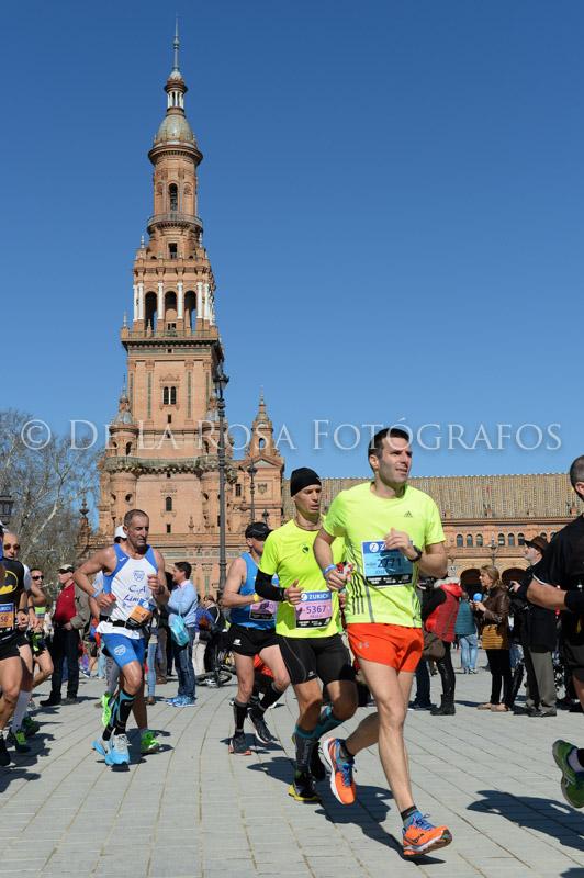 280 DAVID DE LA ROSA Zurich Maraton Sevilla 2015