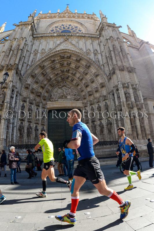 309 DAVID DE LA ROSA Zurich Maraton Sevilla 2015
