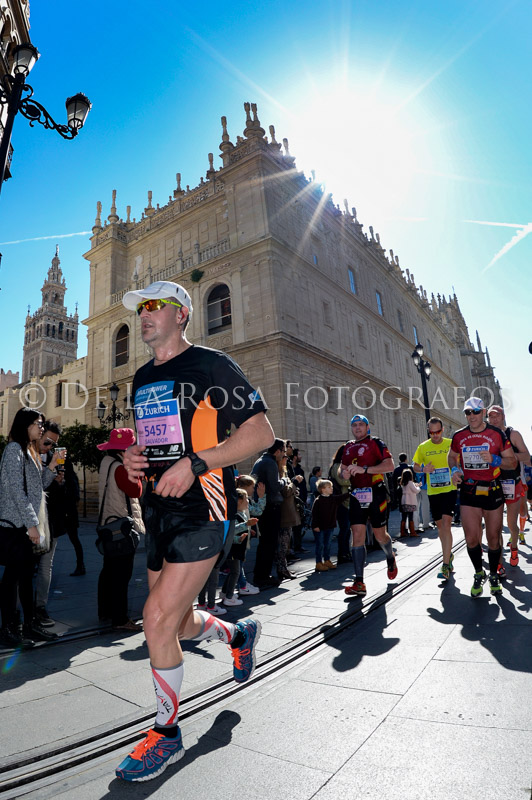 314 DAVID DE LA ROSA Zurich Maraton Sevilla 2015