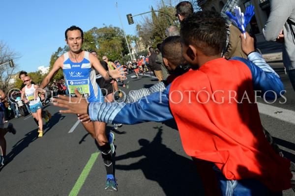 128 DAVID DE LA ROSA Zurich Maraton Sevilla 2015