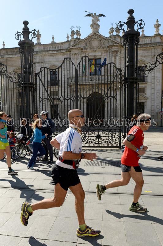 301 DAVID DE LA ROSA Zurich Maraton Sevilla 2015