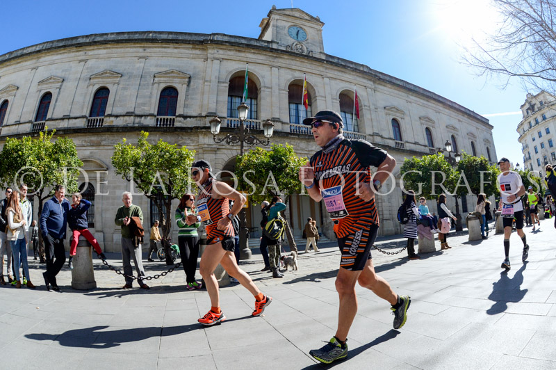 327 DAVID DE LA ROSA Zurich Maraton Sevilla 2015